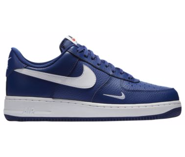 free shipping 290dd 2b079 NIKE AIR FORCE 1 LOW Deep Royal Double Check - Mens