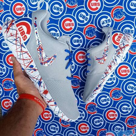chicago cubs shoes by opc kicks