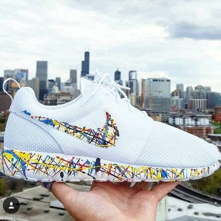 custom painted nikes by opc kicks