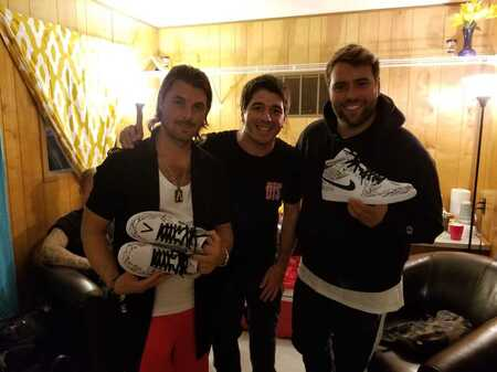 OPC Kicks customized Nikes Jordans for Sweedish house mafia