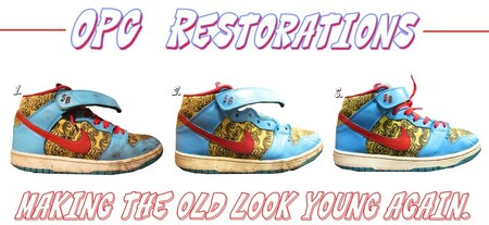 Shoe restorations in Chicago