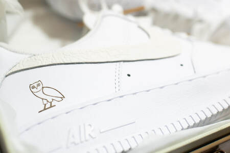 OVO Nikes made for OVO Niko by OPC Kicks