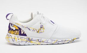 minnesota viking shoes nikes custom made by opc kicks
