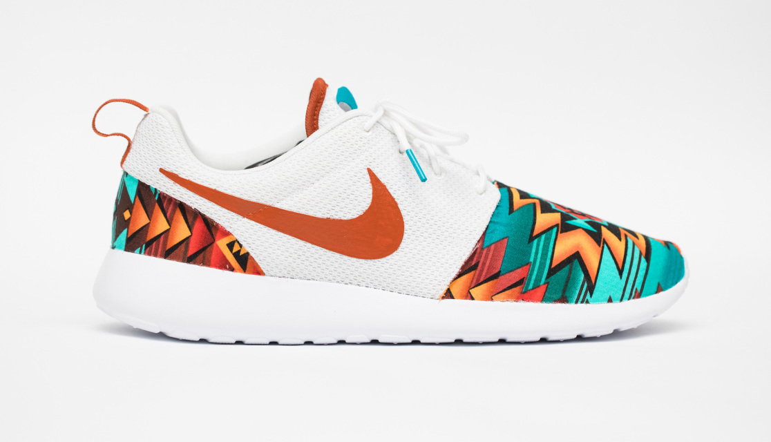 the latest 0b964 55a7e Nike Roshe One Custom  AZTEC  Edition