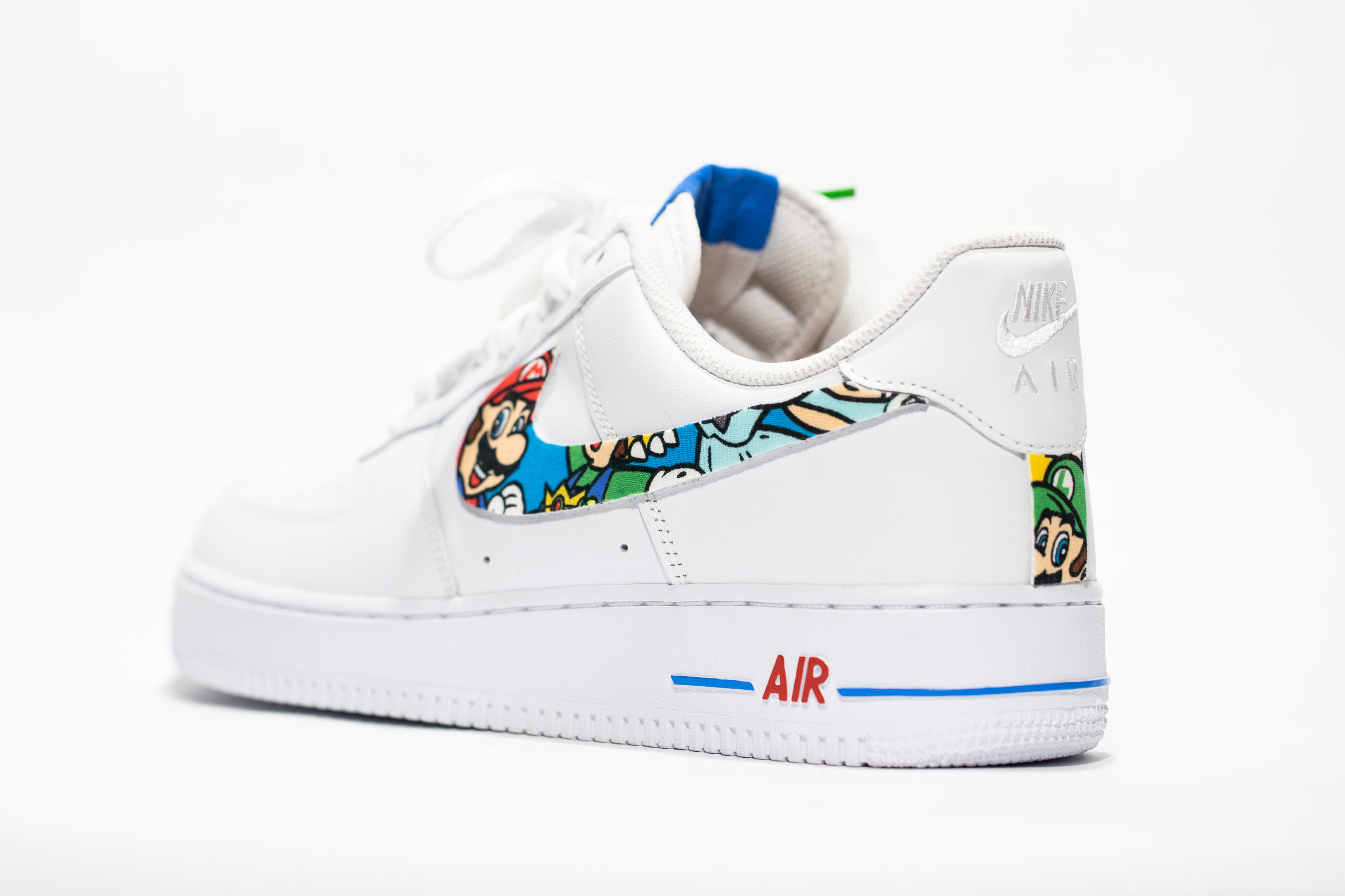 Super Smash Custom Nike Air Force Ones Custom Made Nikes By Opc